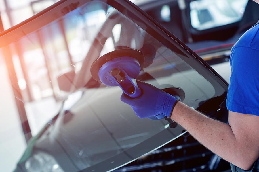 SafeLite AutoGlass Partnership - Auto Glass Getting Replaced
